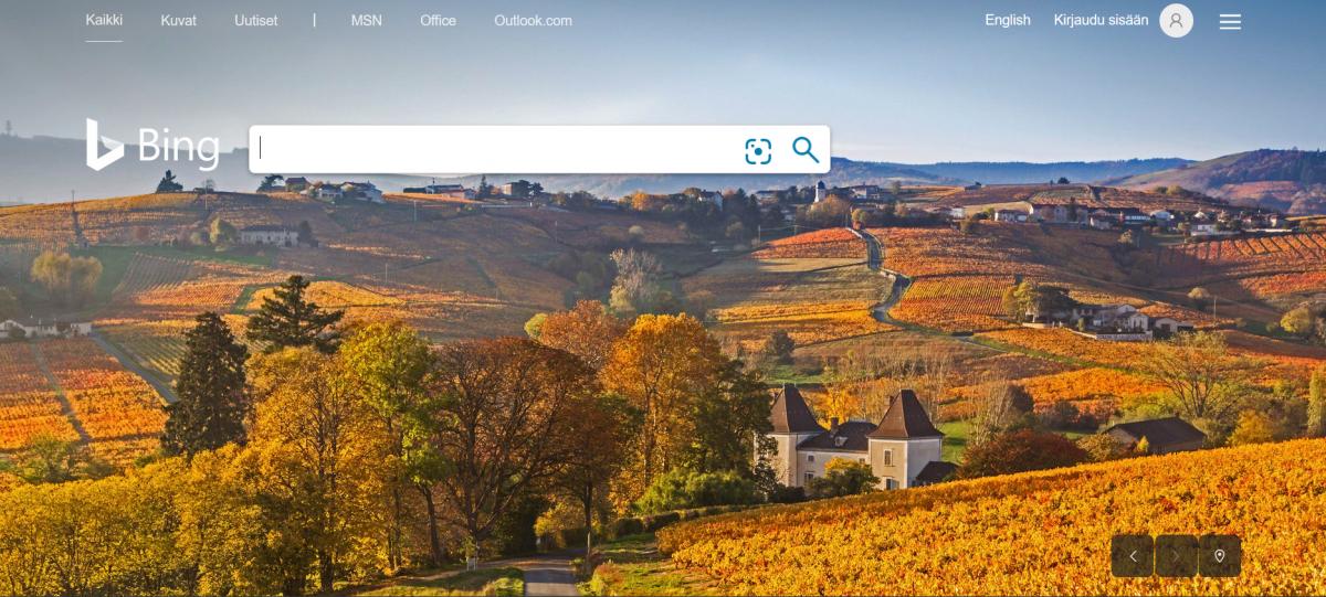 Bing visuaalinen hierarkia konversio optimoinnissa.