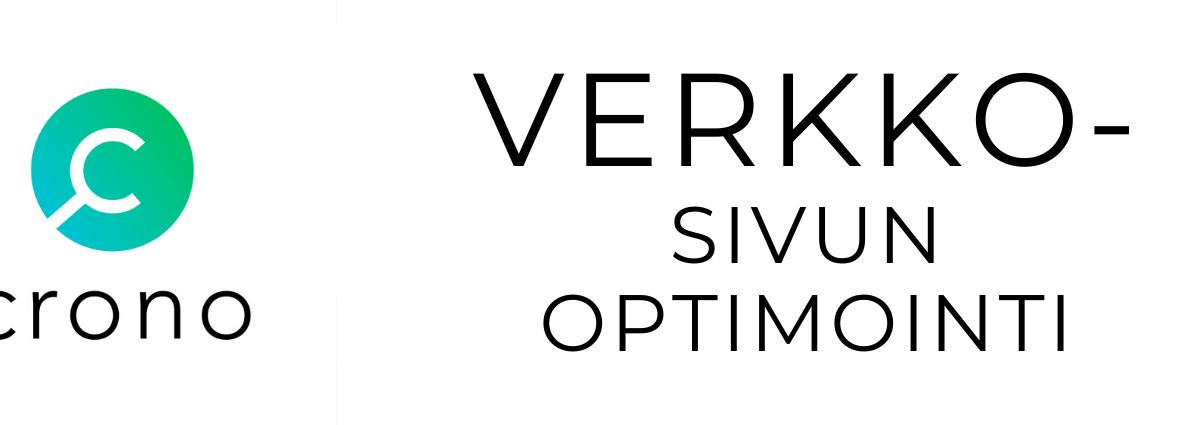 verkkosivun optimointi